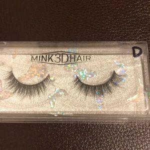 3D real mink hair false eyelashes